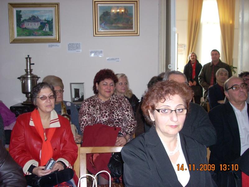 Sadoveniana- editia a douazeci si noua!-14 nov 2009 Sadove27