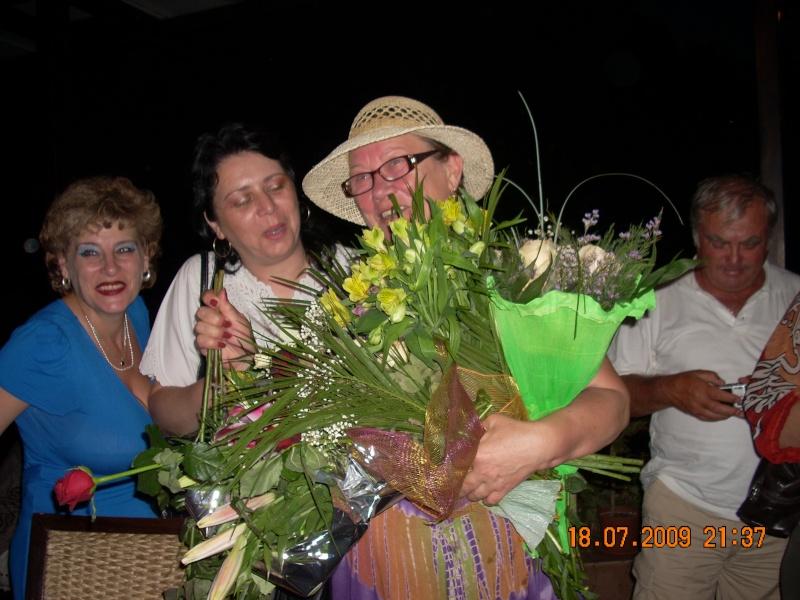 """18 iulie 2009-Volumul de versuri """"Saruta-mi lacrima""""a doamnei Atena Mariana Zara prezentat iesenilor Stefan10"""