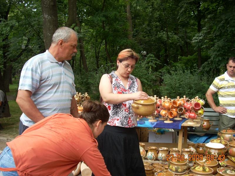 Targul de arta ceramica Cucuteni si al mestesugarilor de la Iasi-iunie 2009 Targul24