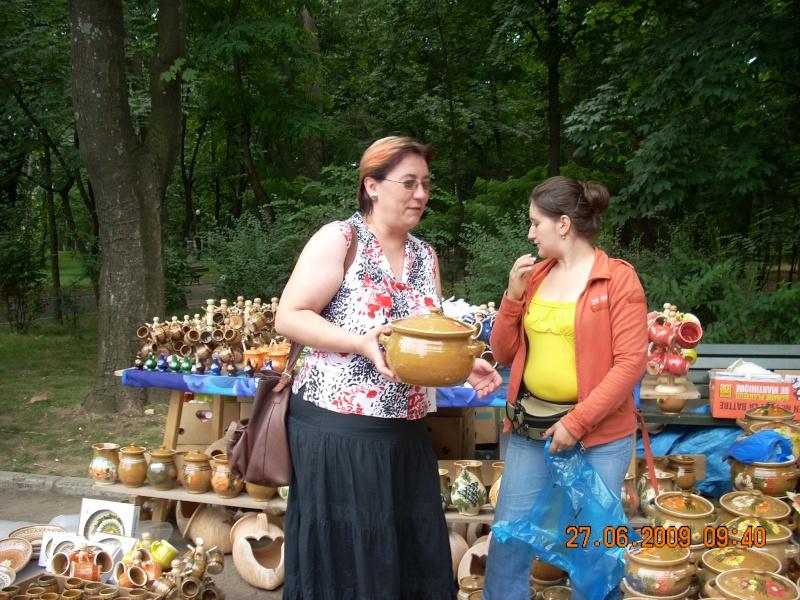 Targul de arta ceramica Cucuteni si al mestesugarilor de la Iasi-iunie 2009 Targul26