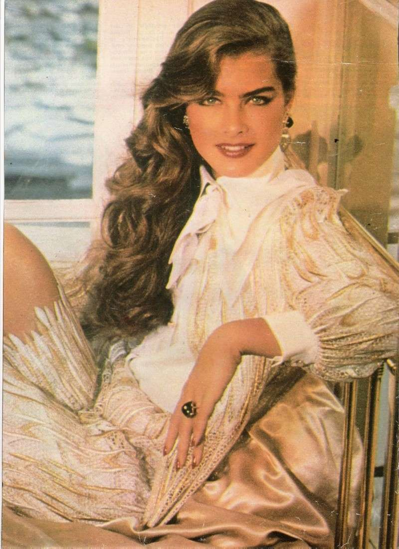 Brooke Shields Fan Family