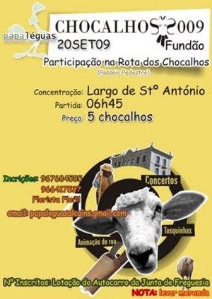 """Papa-Léguas no """" Chocalhos2009 """" Chocal11"""