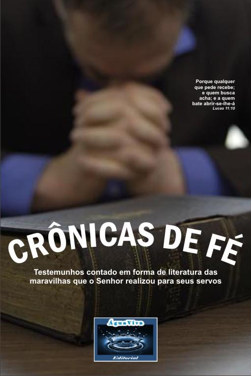 """VOTAÇÃO PARA A CAPA DO LIVRO """"CRÔNICAS DE FÉ"""" Capa110"""