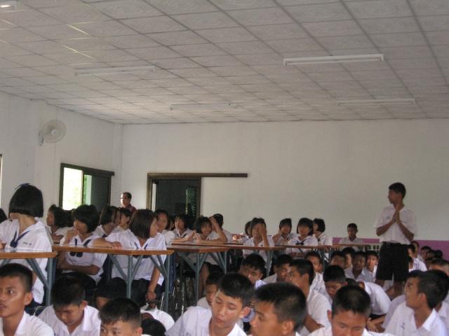 อบรมจริยธรรม นักเรียนโรงเรียนไหล่หินวิทยา Img_0518