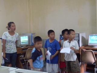 เรียน คอมพิวเตอร์ วันเสาร์ Sdc12312