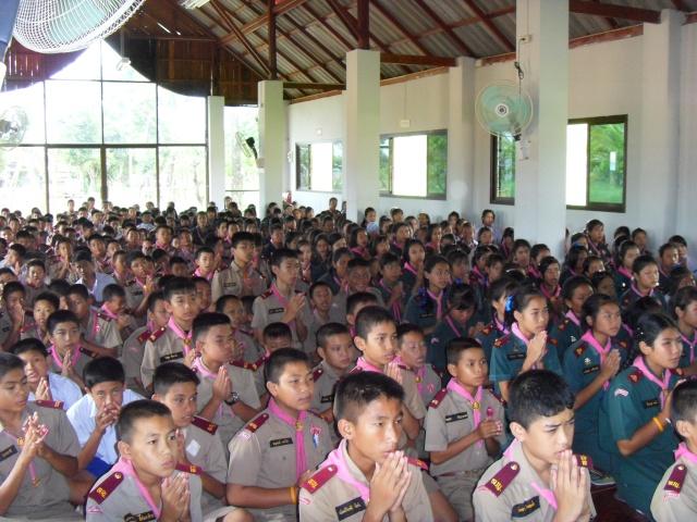 อบรมจริยธรรม นักเรียนโรงเรียนอ้อมอารี Sdc14112