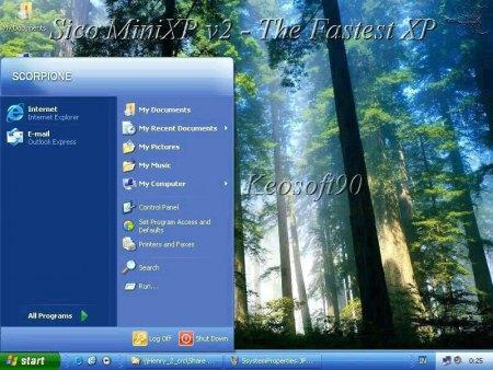Shkarko windows mini XP vetem 255 MB 114