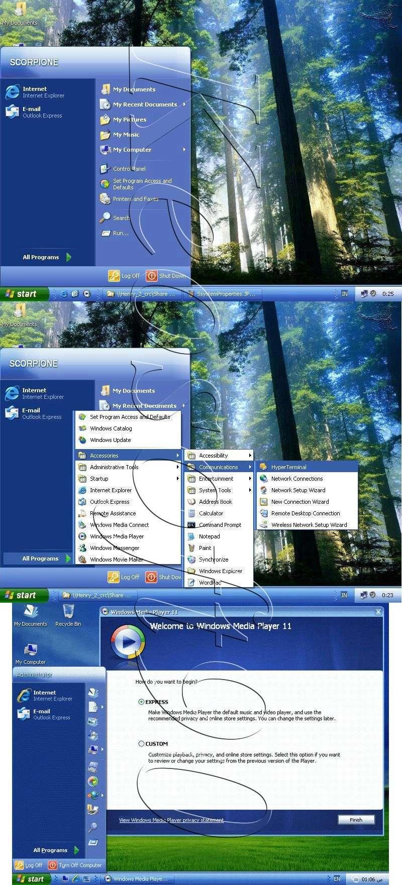 Shkarko windows mini XP vetem 255 MB 215