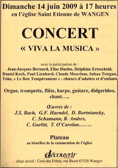 """Concert """"Viva la musica"""" à Wangen  le dimanche 14 juin 2009 Img08910"""