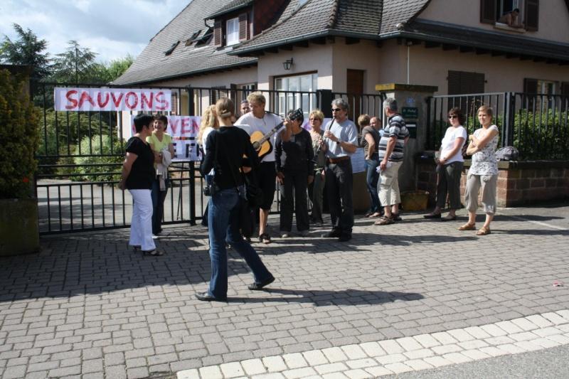 Mercredi 10 juin 2009 :jour de grève au Freihof à Wangen Img_1711