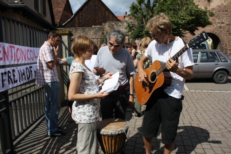 Mercredi 10 juin 2009 :jour de grève au Freihof à Wangen Img_1716