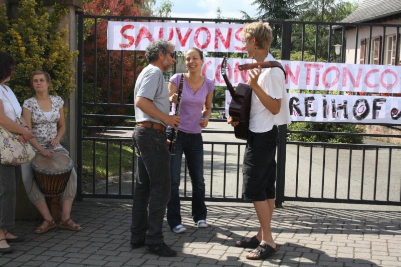 Mercredi 10 juin 2009 :jour de grève au Freihof à Wangen Img_1717