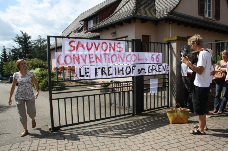 Mercredi 10 juin 2009 :jour de grève au Freihof à Wangen Img_1721