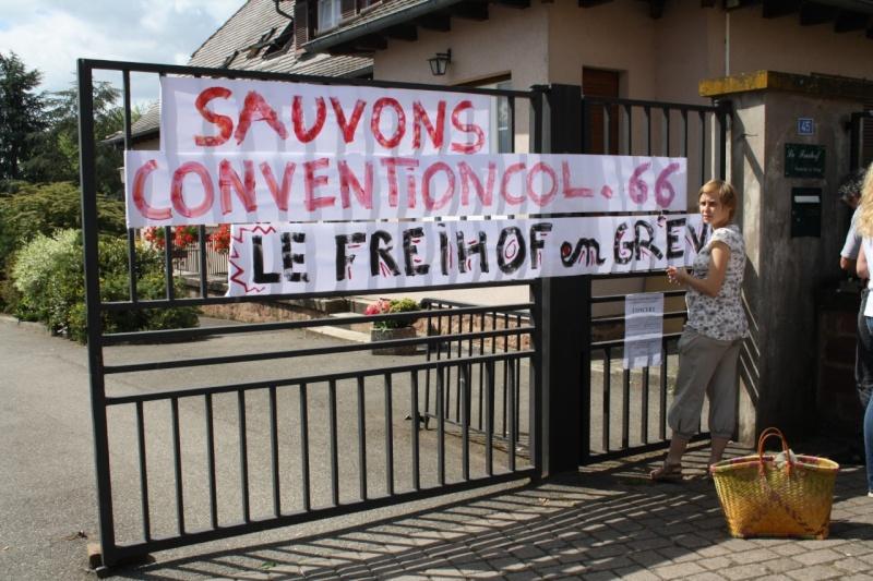Mercredi 10 juin 2009 :jour de grève au Freihof à Wangen Img_1722