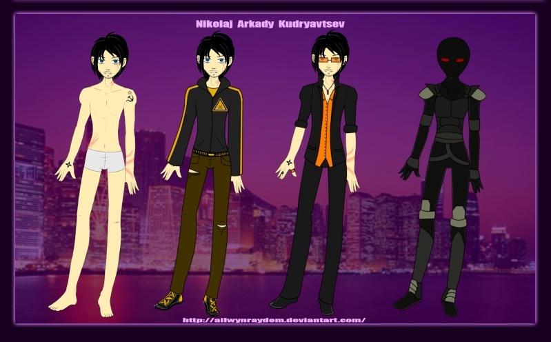Character Profile: Nikolaj Kudryavtsev Nik11