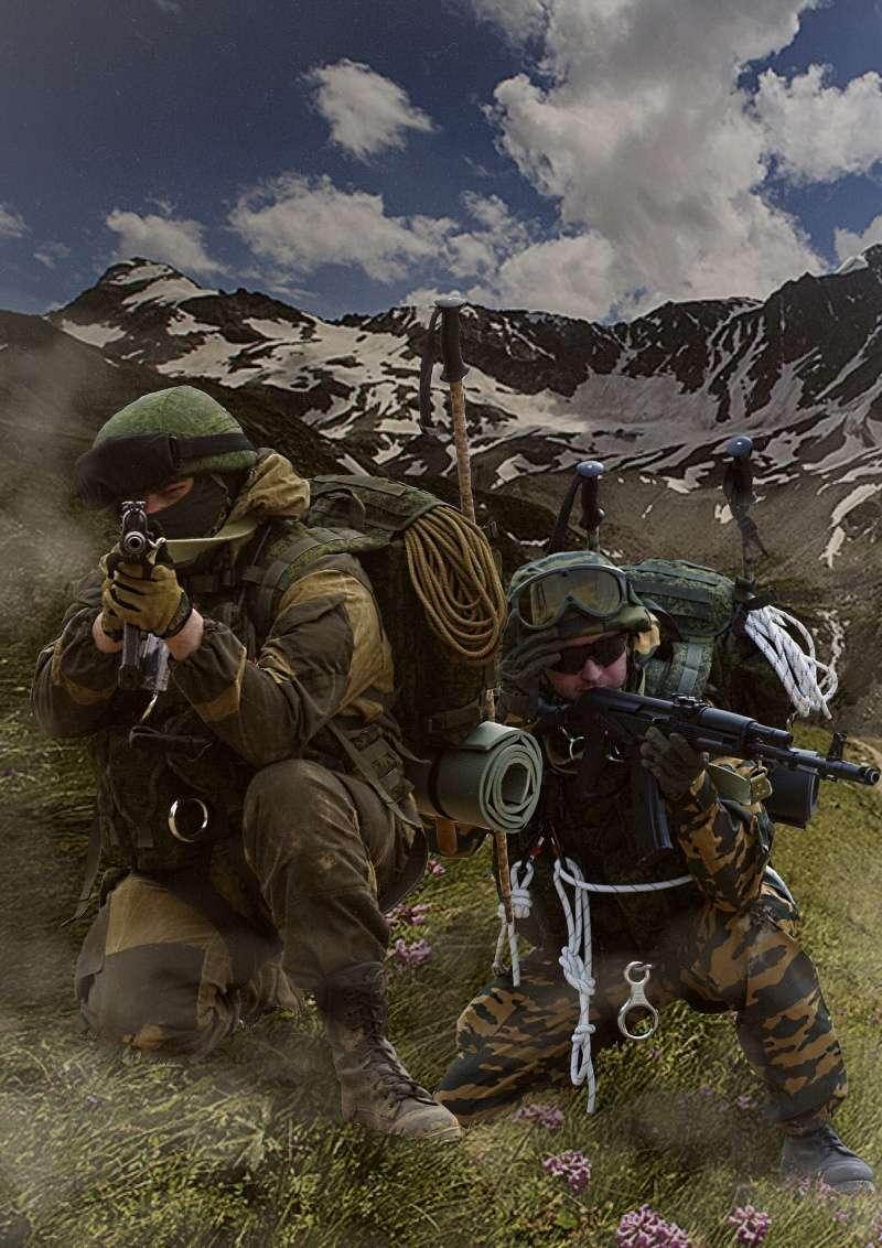 34e Brigade De Montagne, Caucase 2014 14611821