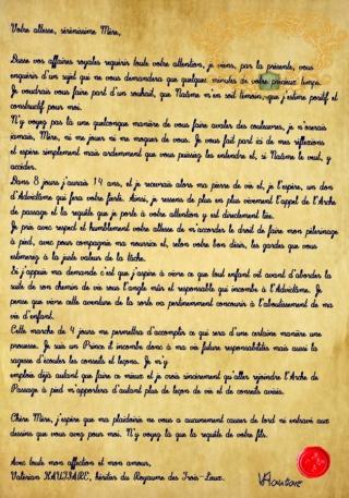 [26 Allune ~ 30 Bellune 1090] Conte d'un Prince Lettre10