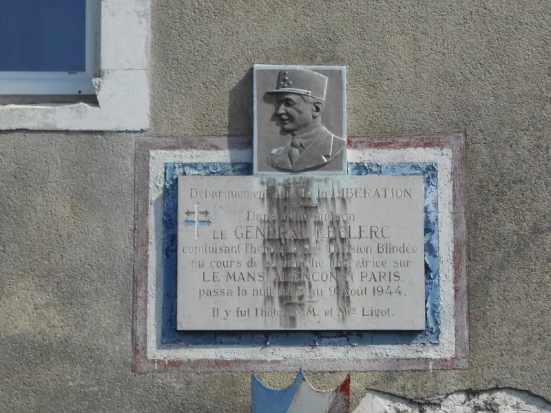 Général Leclerc à Rouillon 9 août 1944 Dscn5510