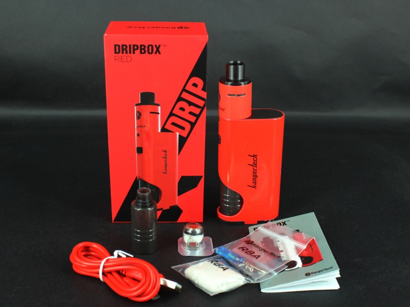test de la DripBox de Kangertech : le dripper devient enfin accessible ! Dripbo10
