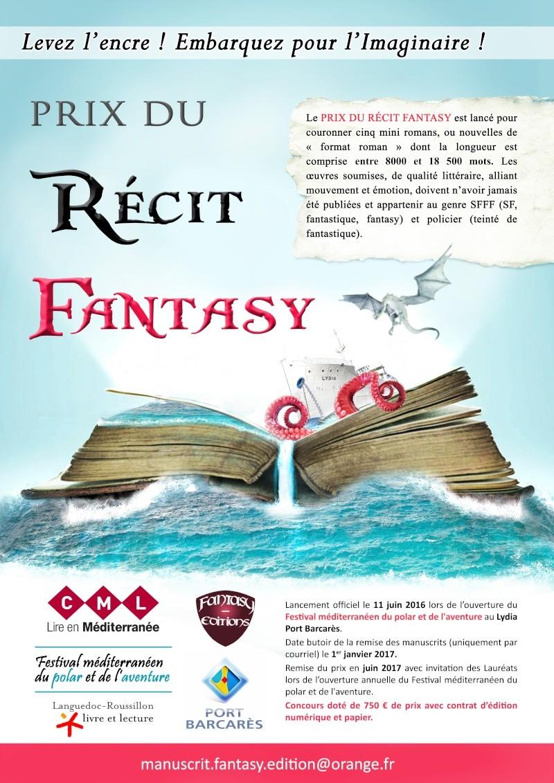 Le Prix du récit fantasy du Festival méditerranéen du polar et de l'aventure Salon_12