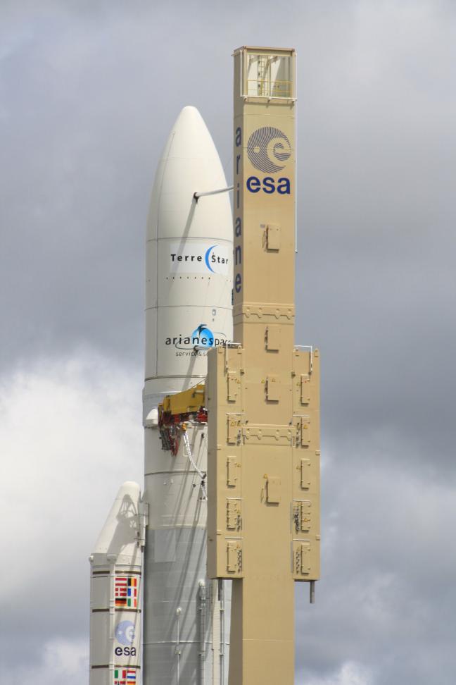 Ariane 5 ECA V189 / TerreStar - 1er juillet 2009 - Page 2 Img_0914