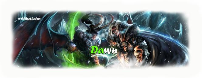 Forum de la guilde Dawn de Eldre'Thalas EU