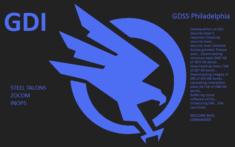GDSS Philadelphia - QG de la GDI (EU II)
