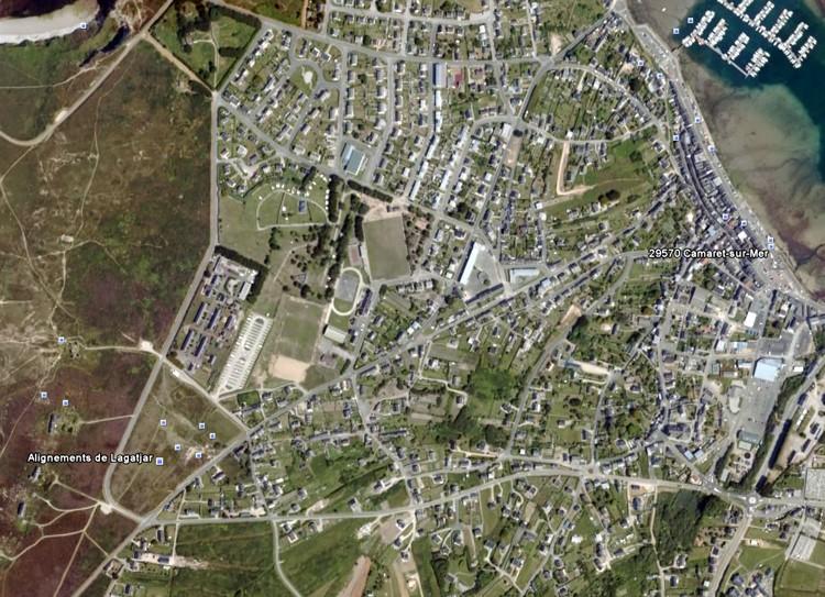 Les alignements de Lagatjar - Finistère - France Lagadj10