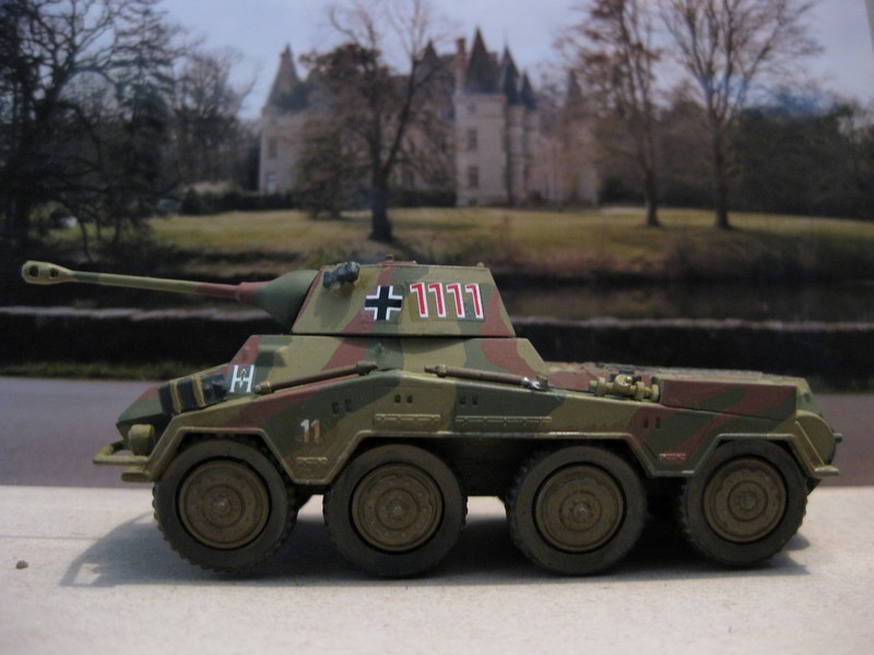 Sd-Kfz 234/2 Puma [Matchbox 1/76 ] Photo914