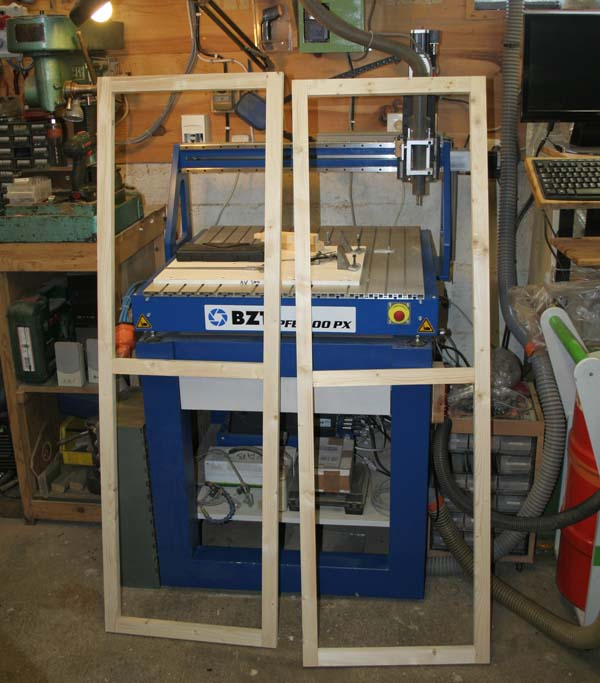 Fabrication d'une porte pliante Porte110