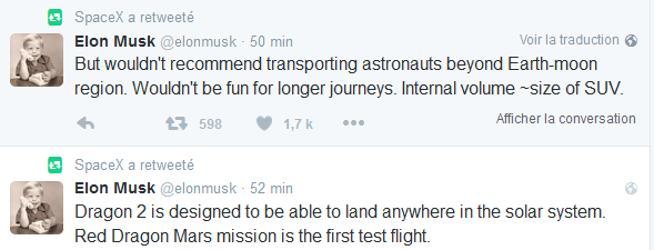 [SpaceX] Un vaisseau Red Dragon sur Mars en 2020 Captur11