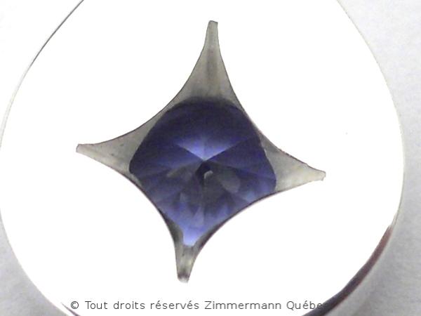 Un pendentif saphir du Montana 0,75 carat Dscn8914