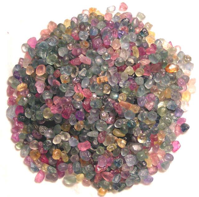 Un pendentif saphir du Montana 0,75 carat Rc110