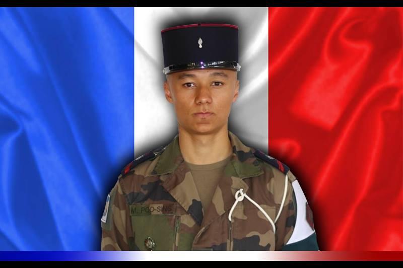 décès du 1re classe Mickaël POO-SING 12986910
