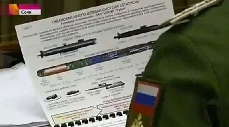 Des plans d'une torpille nucléaire secrète sont publiés 15155810
