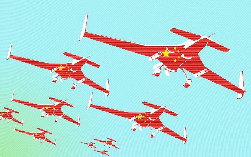 La Chine exporte des drones militaires  47975610