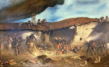 c'est la fete de camerone de la legion etrangère ! bataille du 30 avril 1863 Camero10