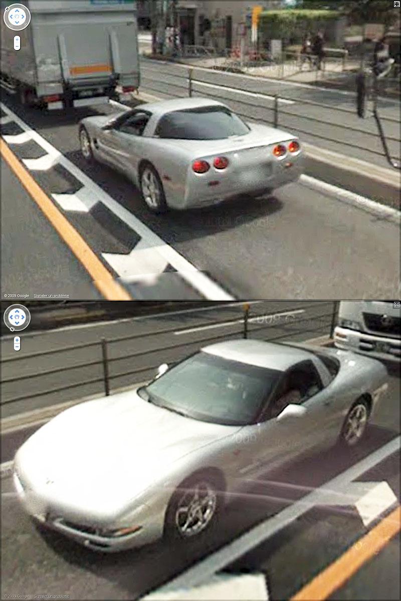 STREET VIEW : belles voitures (Monde) - Page 3 Sans_104