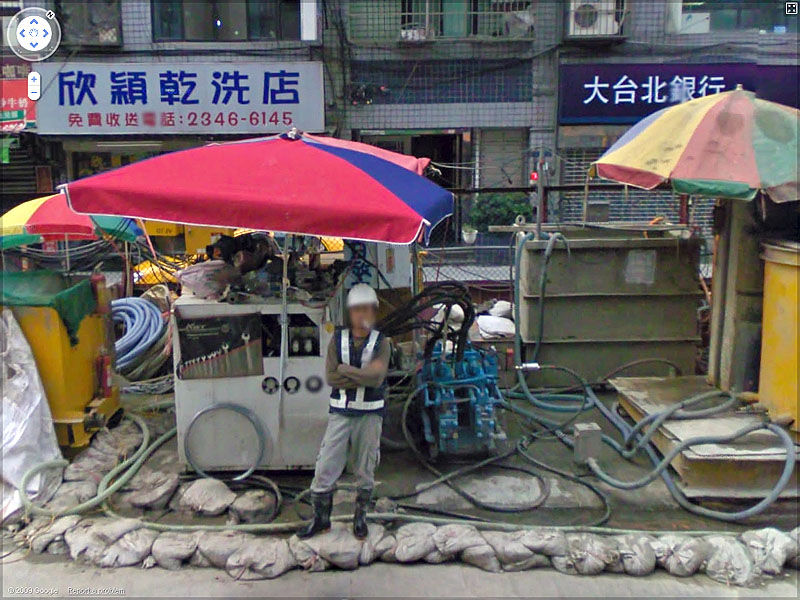 STREET VIEW : Taiwan Plage - Sinyi District, Taipei City, Taiwan Sans_114