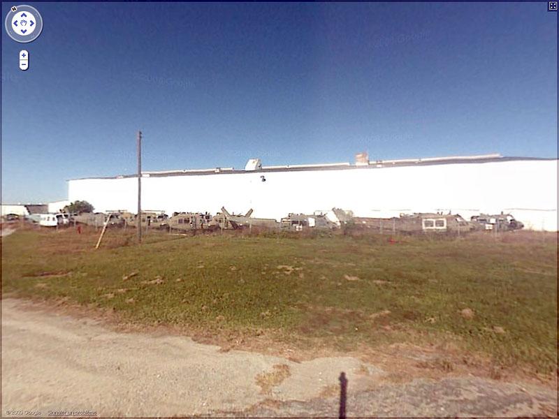 STREET VIEW : Dépotoire d'hélicoptères - Panama City-Bay, Floride, USA Sans_t28