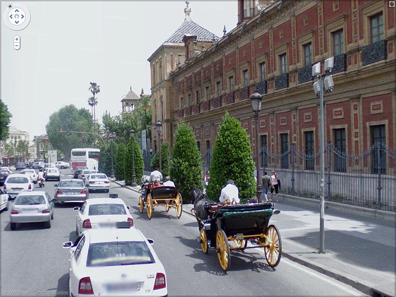 STREET VIEW : Les carrosses, les calèches dans le monde - Page 2 Sans_t38