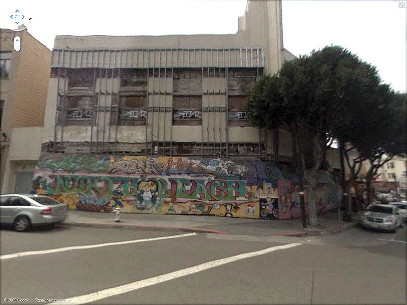 STREET VIEW : graffitis et tags vus de la Google Car - Page 2 Sans_t79