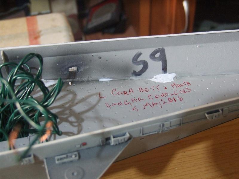 My new project..USS Nimitz CVN 68 1976  - Page 6 Dscf8423