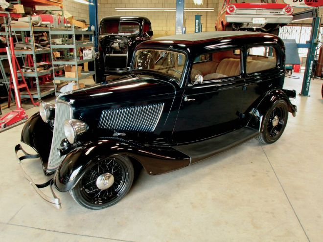1933 Ford 4 Door Sedan (gangster) Jimmy Flintstone #NB160  1933-f10