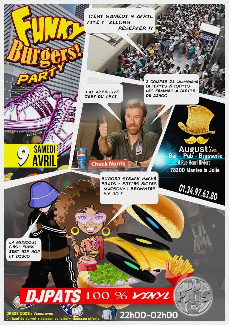 9 Avril  2015 Funky Burgers Party | Mantes la Jolie 78 Comic_10