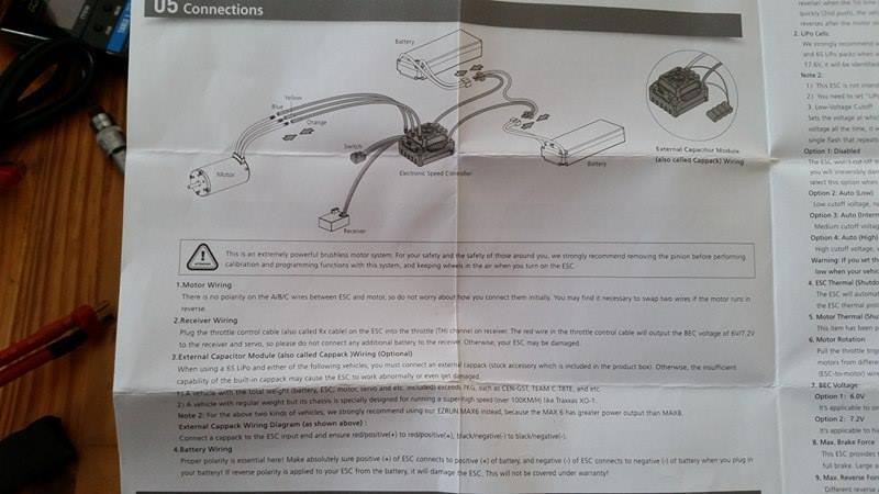[NEW]ESC EZRUN MAX5/MAX6/MAX8/MAX10 SCT WATERPROOF HobbyWing 310