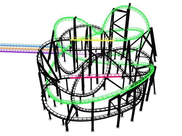 Rock 'n' Roller Coaster Zone5113