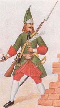 История Армий 18 века Grenad12