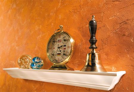 tons orangés marrons avec meubles clairs Enduit11