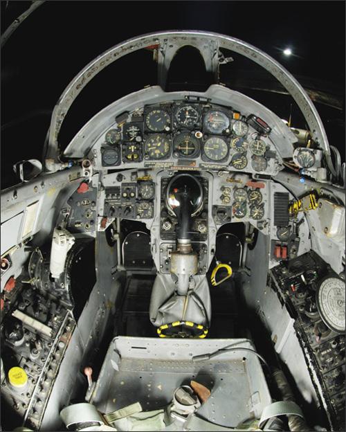 F-104G Cockpit, 1:12 Italeri F104_f10